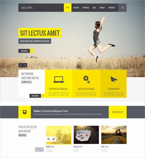 free google sites template