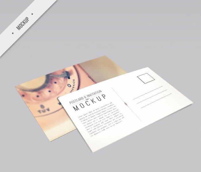 13 Free Postcard Mockup Psd Templates Designyep