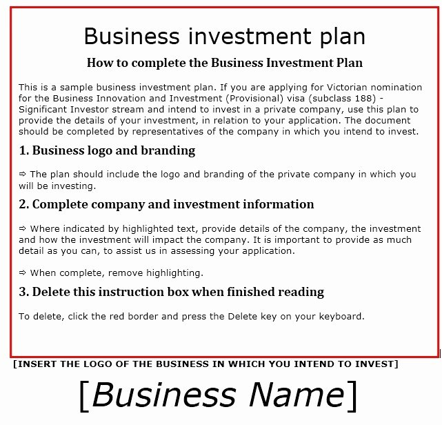 13 Free Sample Investment Proposal Templates Printable