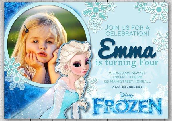 13 Frozen Invitation Templates Word Psd Ai