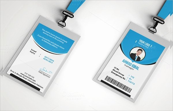 13 Id Card Psd Templates