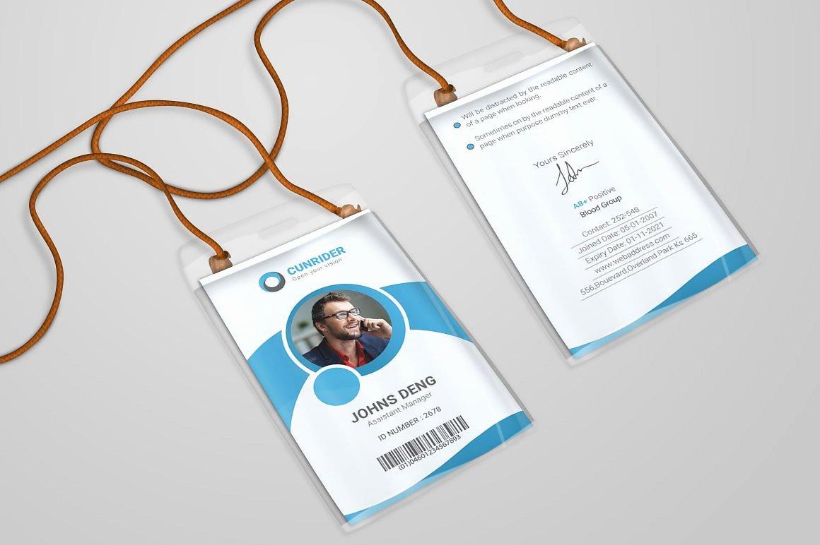 13 Identity Card Designs