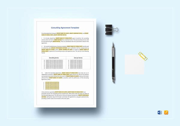 13 Marketing Consulting Agreement Samples