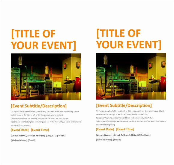 13 Microsoft Flyer Templates to Download for Free