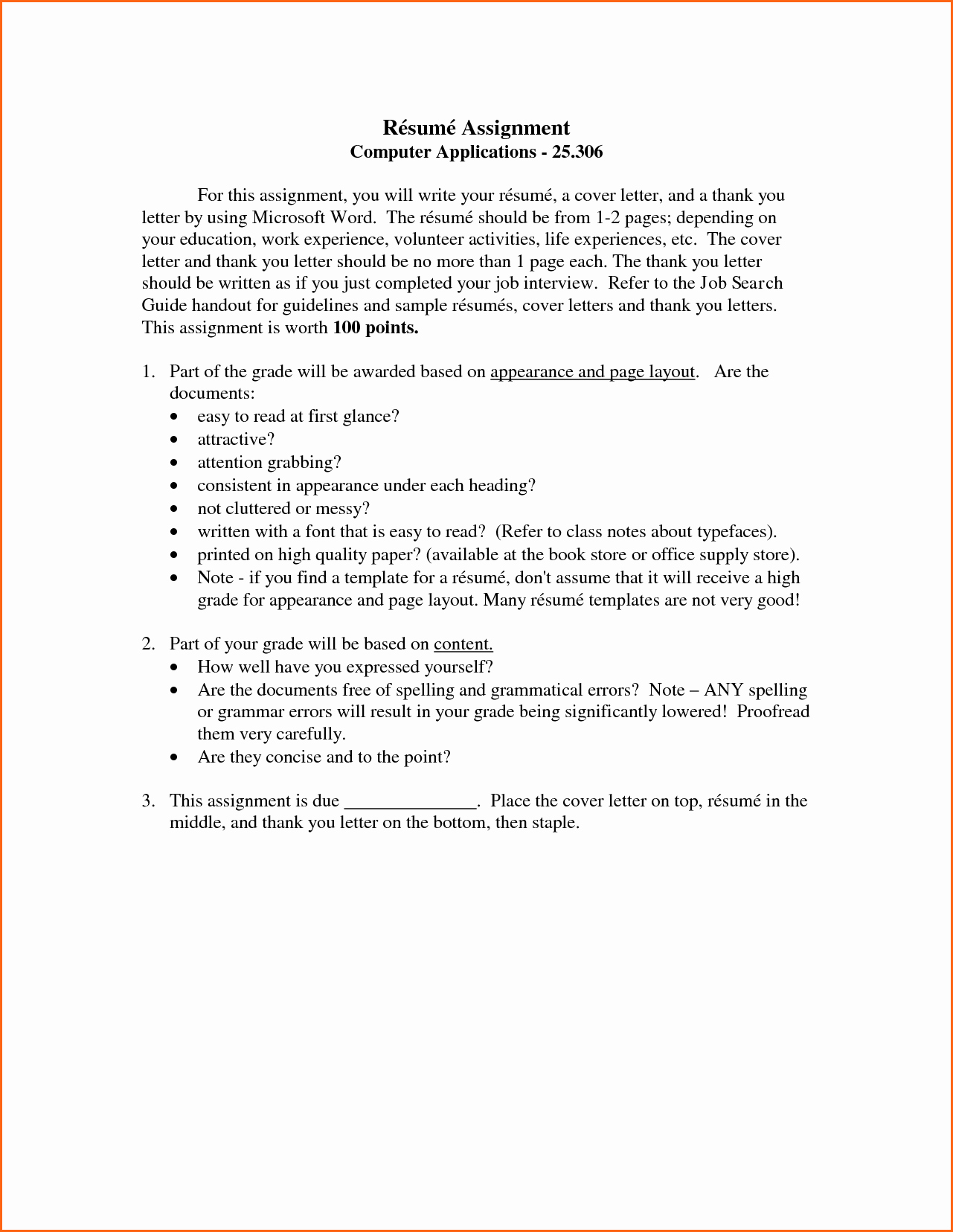 13 Microsoft Word 2007 Resume Templates Bud Template
