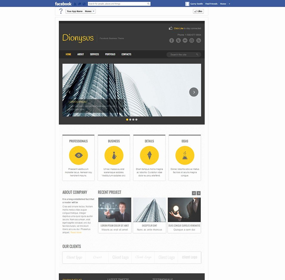 13 Page Templates for Business