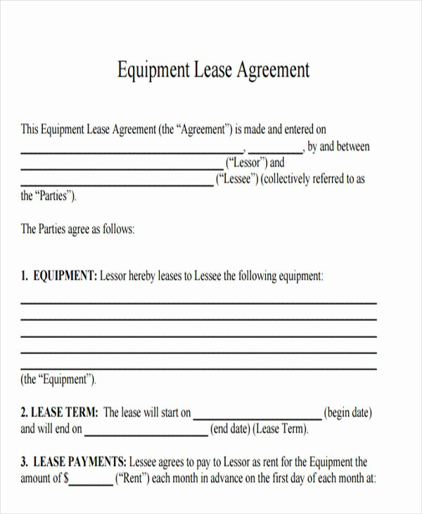 printable lease agreement