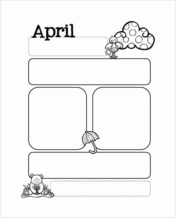 13 Printable Preschool Newsletter Templates Free Word