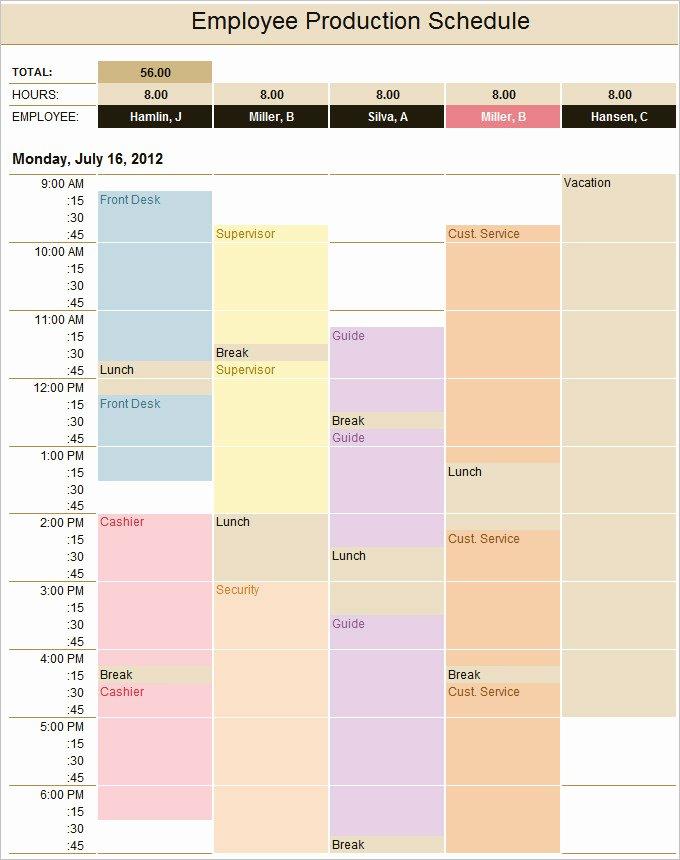 13 Production Schedule Templates Pdf Doc
