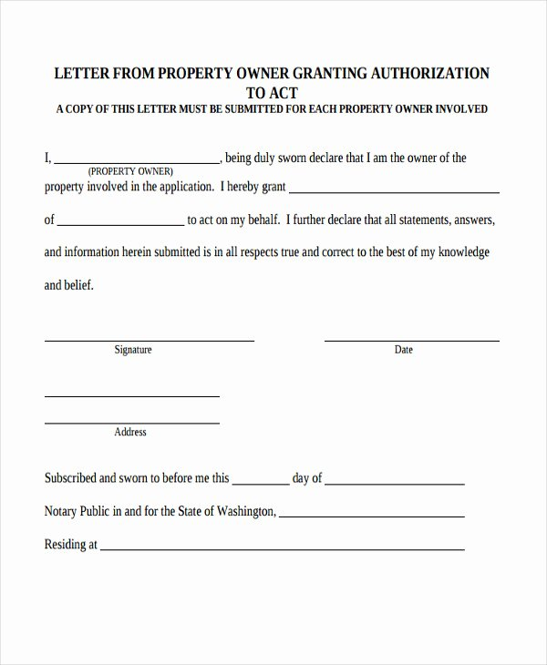 13 Property Transfer Letter Templates Pdf Doc