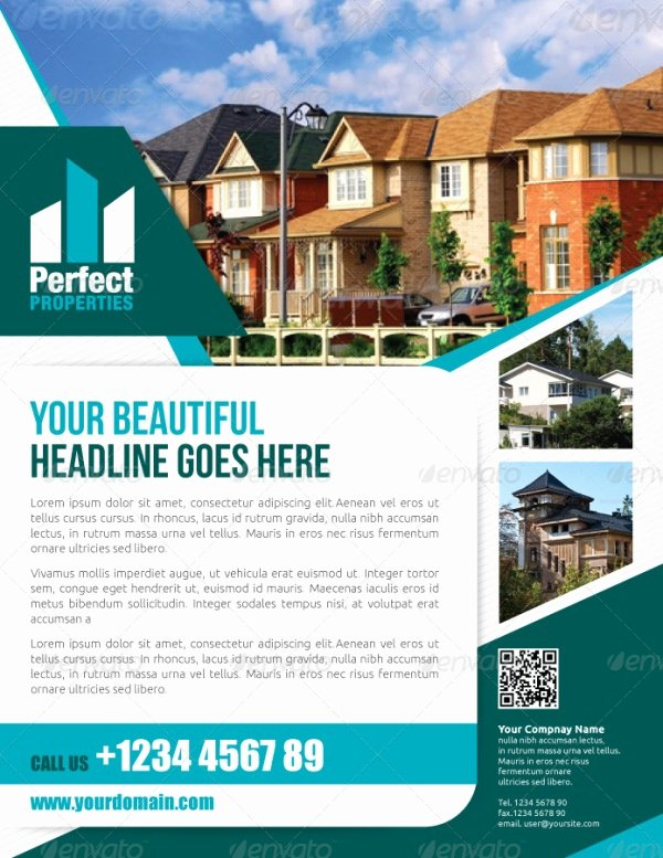 13 Real Estate Flyer Templates Excel Pdf formats