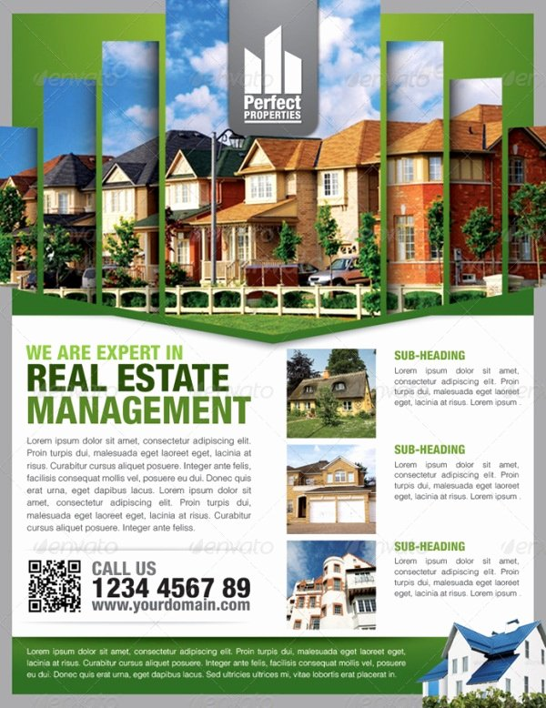 13 Real Estate Flyer Templates Excel Pdf formats