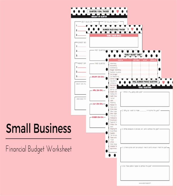 13 Sample Business Bud Templates Word Pdf Pages