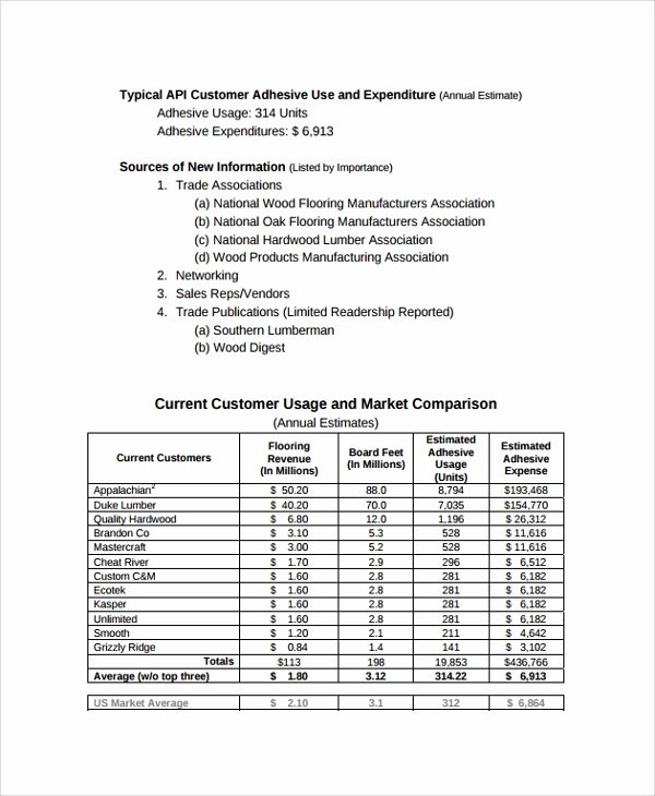 13 Sample Consulting Reports