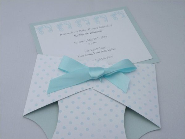 13 Sample Diaper Invitations