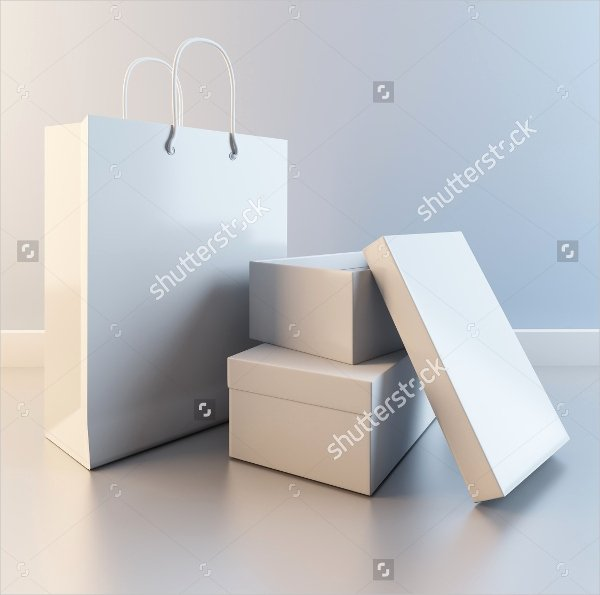 13 Shoe Box Templates Free Psd Ai Eps format Download