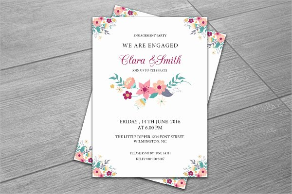 13 Surprise Engagement Party Invitation Designs