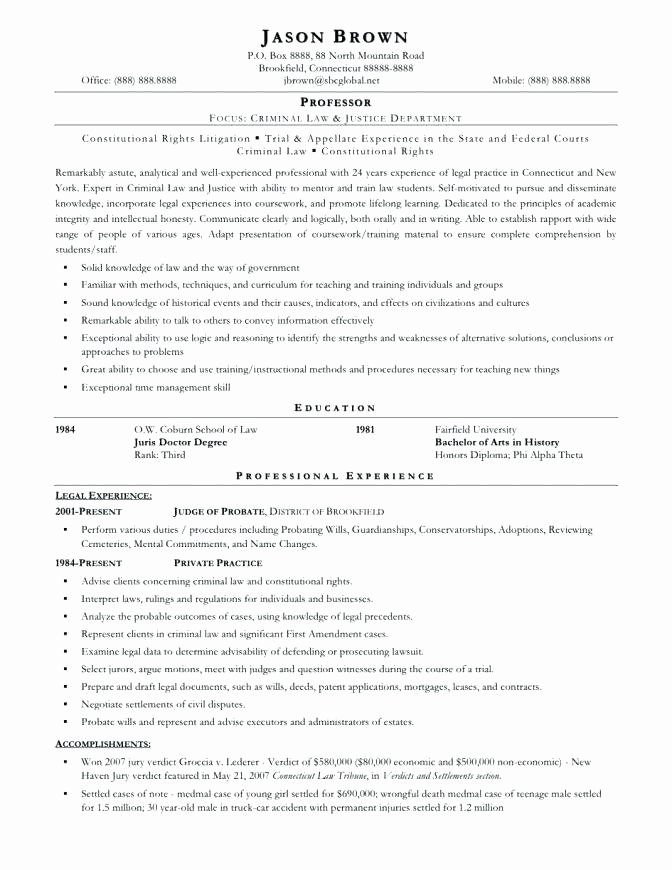 14 15 Entry Level Paralegal Resume Samples