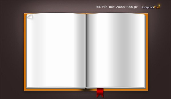 14 3d Book Template Psd Files Free Download Blank