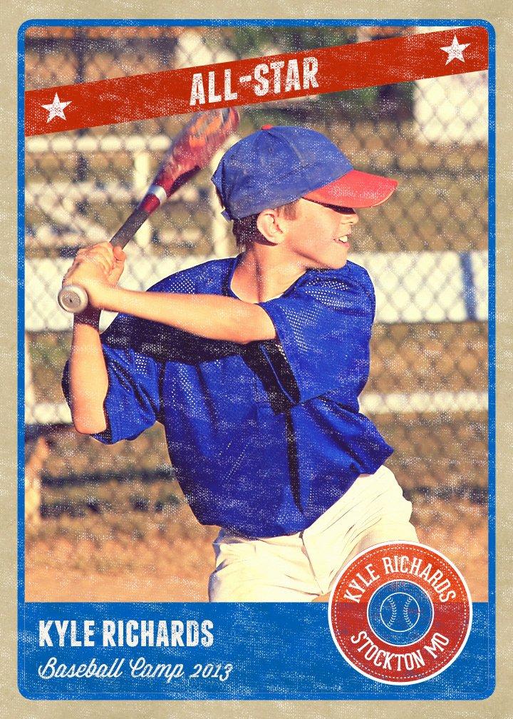 14 Baseball Card Psd Template Shop Templates