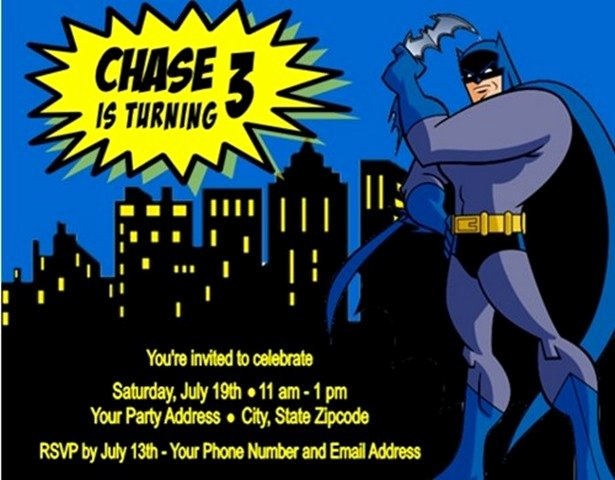 14 Batman Birthday Party Ideas to Plan A Perfect Batman