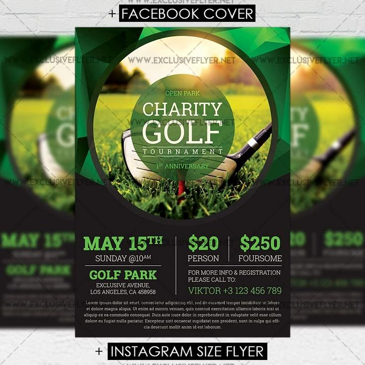 14 Best Golf tournament Promotional Print Templates