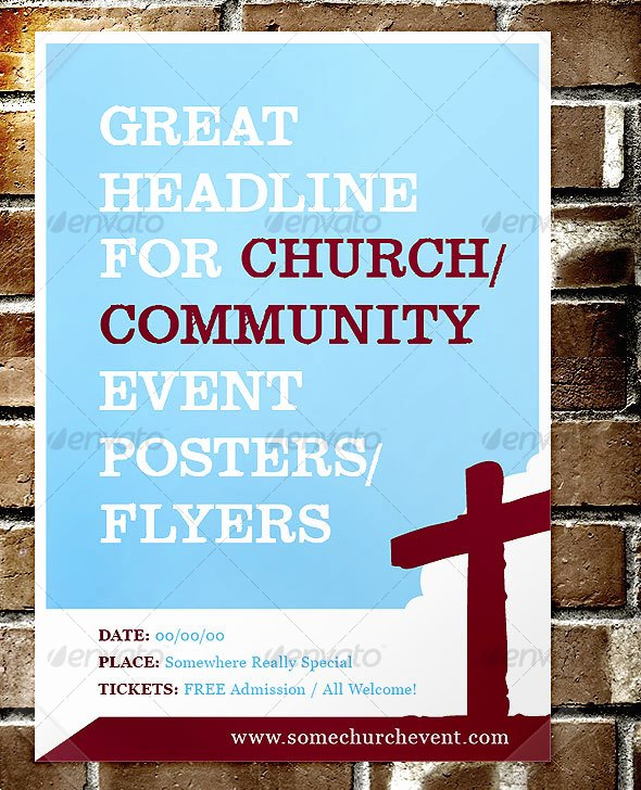 14 Blank Church Flyer Template Design Blank Flyer