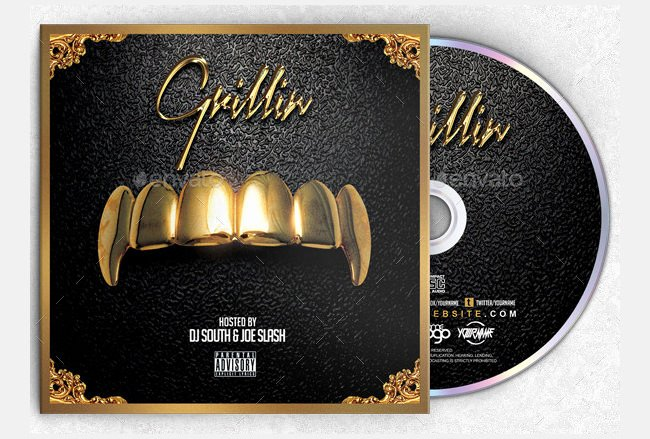14 Cd Cover Psd Template Download Free Mixtape