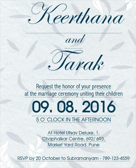 14 Ceremony Invitation Templates Free Editable Psd Ai
