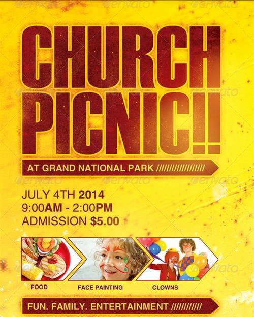 14 Church Flyers Psd Free Psd Church Flyer