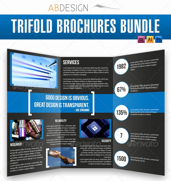 14 Creative 3 Fold Shop Indesign Brochure Templates