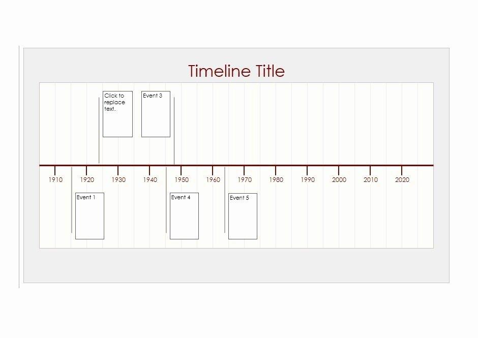14 event Timeline Templates