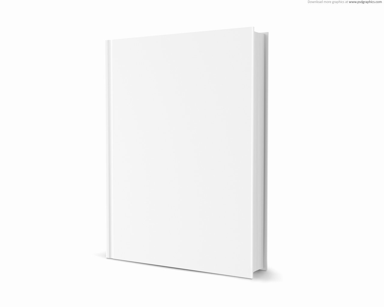 14 Free Blank Book Cover Template Psd Blank Book