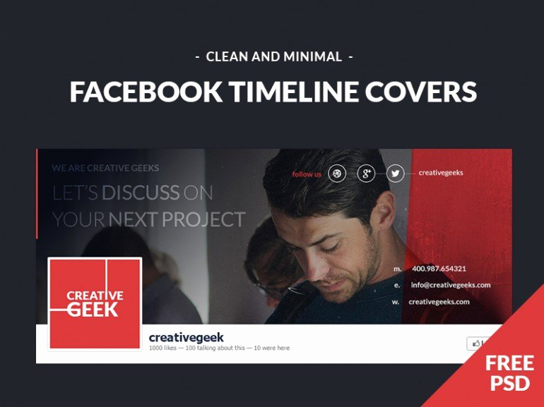 14 Free Psd Cover Timeline