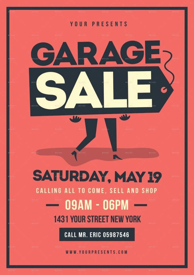 14 Garage Sale Flyer Designs & Templates Psd Ai