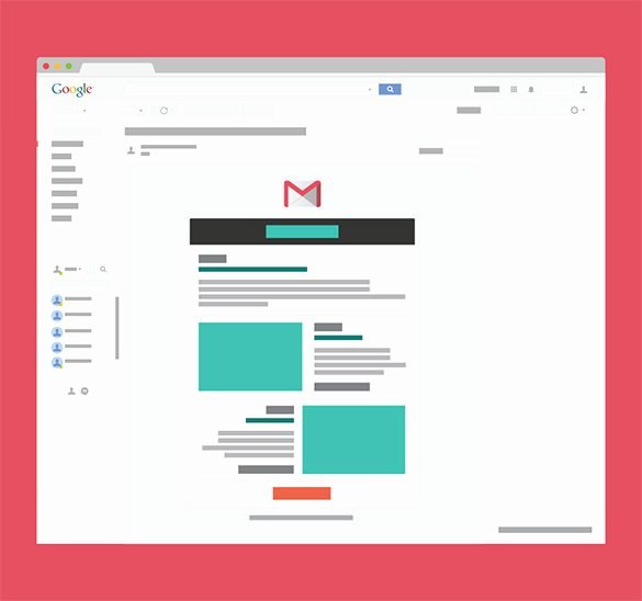 14 Google Gmail Email Templates – HTML Psd Files