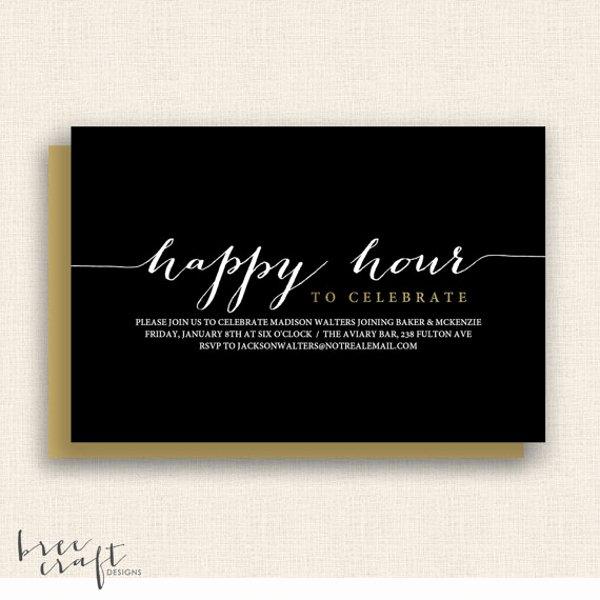 14 Happy Hour Invitation Designs & Templates Psd Ai