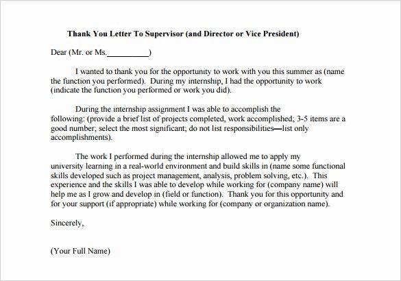 14 Internship Thank You Letter Templates Pdf Doc