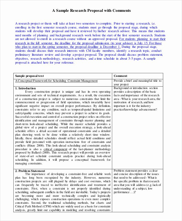 14 Research Proposal Examples & Samples Pdf Doc Pages