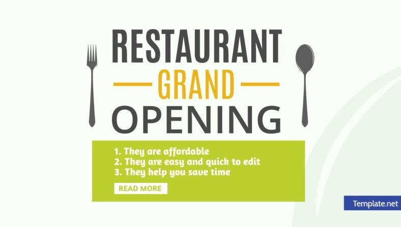 14 Restaurant Grand Opening Invitation Designs