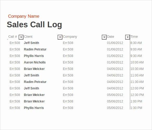 14 Sales Call Report Samples