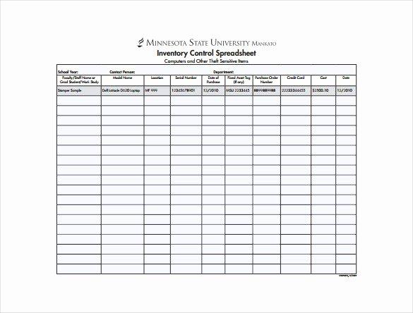 14 Sample Inventory Spreadsheet Templates Pdf Doc