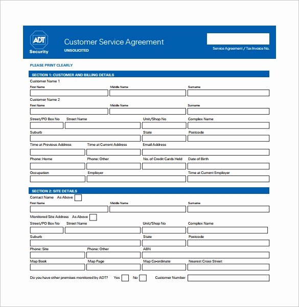 14 Sample Service Contract Templates to Download
