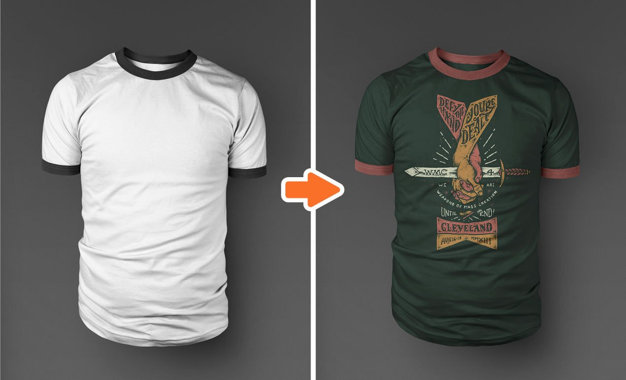 14 Shop T Shirt Template Mockup T Shirt