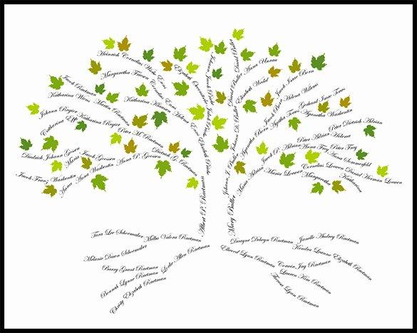 15 Amazing Family Tree Art Templates & Designs
