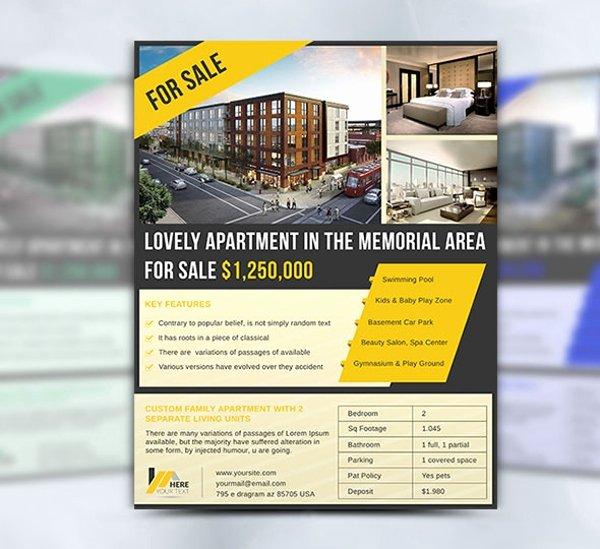 15 Apartment Flyer Templates