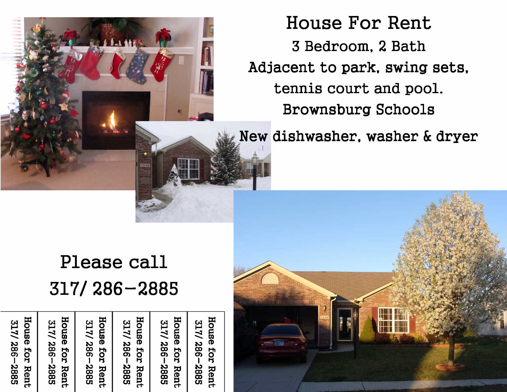 15 Apartments for Rent Flyer