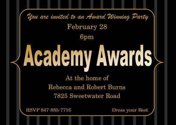 15 Award Invitation Template Psd Vector Eps Ai