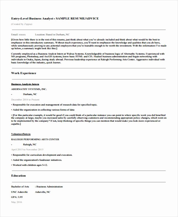 15 Basic Education Resume Templates Pdf Doc
