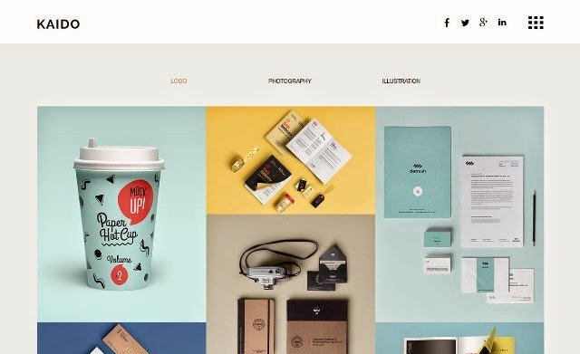 15 Best Free and Premium Adobe Muse Templates 2015 Web